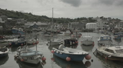 MEVAGISSEY HARBOUR Stock Footage