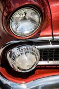 Ford Customline Headlamp - stock photo