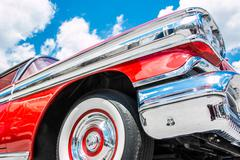 1958 Oldsmobile Super 88 Right Front Stock Photos