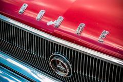 Dodge Nameplate Classic - stock photo