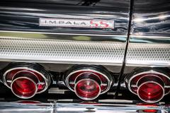 Chevrolet Impala SS Rear Nameplate and Tail Lights - stock photo