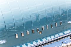 Pontiac Bonneville Rear Logo - stock photo
