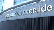 Stock Video Footage of More London Riverside