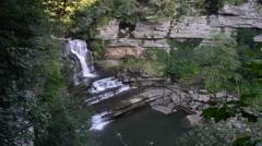 Cummins Falls, Cummins Falls State Park, Tennessee 1080/30 18s Stock Footage