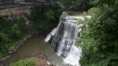 Burgess Falls, Burgess Falls State Park, Tennessee 1080/30 19s Stock Footage