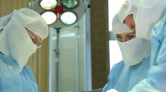Operation: oncosurgery Stock Footage
