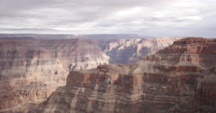 4K time lapse looking out over the Grand Canyon, USA Stock Footage