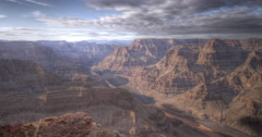 4K HDR time lapse of the Grand Canyon, USA Stock Footage