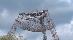 Meteorological antenna Stock Footage