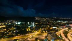 TImelapse of University of Hawaii to Diamondhead Stock Footage