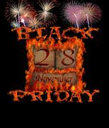 Stock Illustration of black friday november 28.