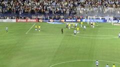 Brasil vs Argentina Stock Footage
