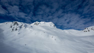 Stock Video Footage of 1080HD Areches timelapse motion alpine