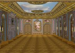 ballroom - stock illustration