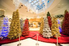 Christmas decoration in shopping mall Kuvituskuvat