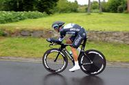 Stock Photo of ndividual time trial, polish championships in road cycling