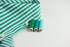 Sew shirt Stock Photos