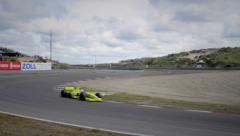 Formula 1 race car Stock Footage