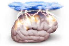 Brain storm Stock Illustration