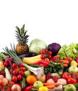 Stock Photo of Fruits and vegetables