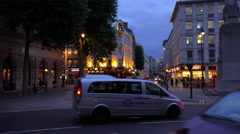 London Westend Theatre district - stock footage