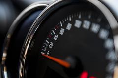 Speedometer detail Stock Photos