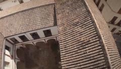 Aerial view of roofs of Seville - Spain Stock Footage