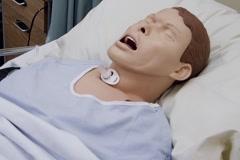 Medical Dummy - Nurse Training - stock footage