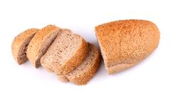 Stock Photo of Bread with sesame
