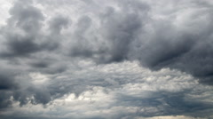 Formation of a thundercloud Stock Footage