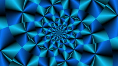 Rotating vortex with color changes Blue - LoopNeo VJ Loops HD 1920X1080 Stock Footage