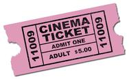 Stock Illustration of cinema ticket
