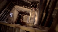 Stock Video Footage of Stairwell of tower
