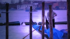 Gondolier Stock Footage