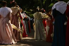 Stock Photo of Feast and folklore of Costume in Provence in France