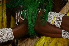 Stock Photo of Feast and Tradition at Island of Futuna in Vanuatu Oceania