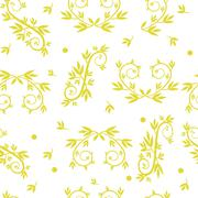 Seamless texture patterns with ornaments Stock Illustration