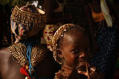 Feast of Tribes Diola in Africa Senegal Stock Photos