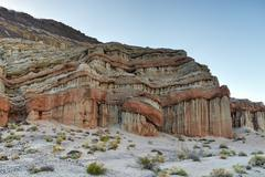 red rock canyon state park, california - stock photo