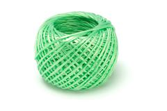Ball of nylon string Stock Photos