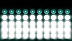 green spotlight flash lighting bulb - stock footage