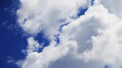 Flying cloud Stock Footage