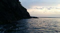 Sozopol seaside and harbor / Sea _1 Stock Footage