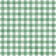 pale green gingham pattern repeat background - stock illustration