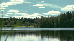 Stock Video Footage lake landscape 1 Stock Footage