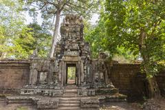 Baphuon Temple in Angkor Thom, Angkor, Siem Reap Province, Cambodia, Indochina - stock photo