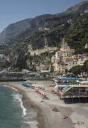 Amalfi Peninsula, Amalfi Coast, UNESCO, Campania, Italy, Mediterranean Stock Photos