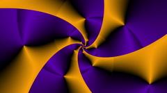Rose fractal psychedelic color changing II Violet- LoopNeo VJ Loops HD 1920X1080 - stock footage