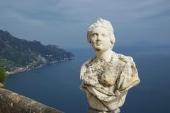 Stock Photo of Infinity Terrace, Villa Cimbrone, Ravello, Amalfi Coast, Campania, Italy