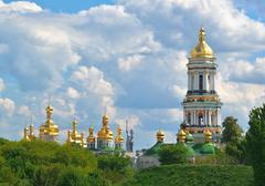 kiev pechersk lavra in kiev - stock photo